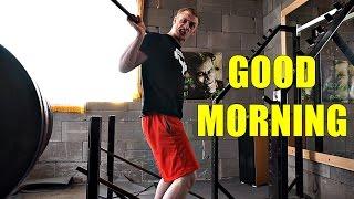 GOOD MORNING | Cvik na VZPŘIMOVAČE, spodek zad