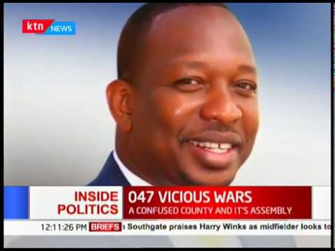 Guyo accuses Sonko of inciting chaos, wars derailing service delivery