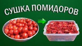 видео Как сушить помидоры в электросушилке, духовке