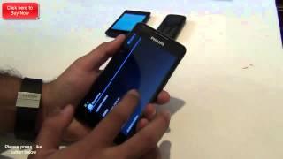 philips w6610 hands on review specifications and features overview