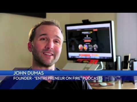 John Lee Dumas of Entrepreneur on Fire Testimonial for GMR Transcription