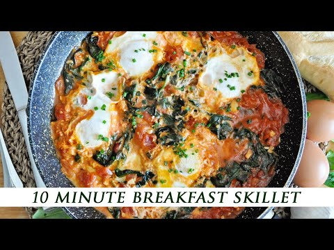 The ULTIMATE 10-MINUTE Breakfast SKILLET | Healthy & Easy To Make Recipe