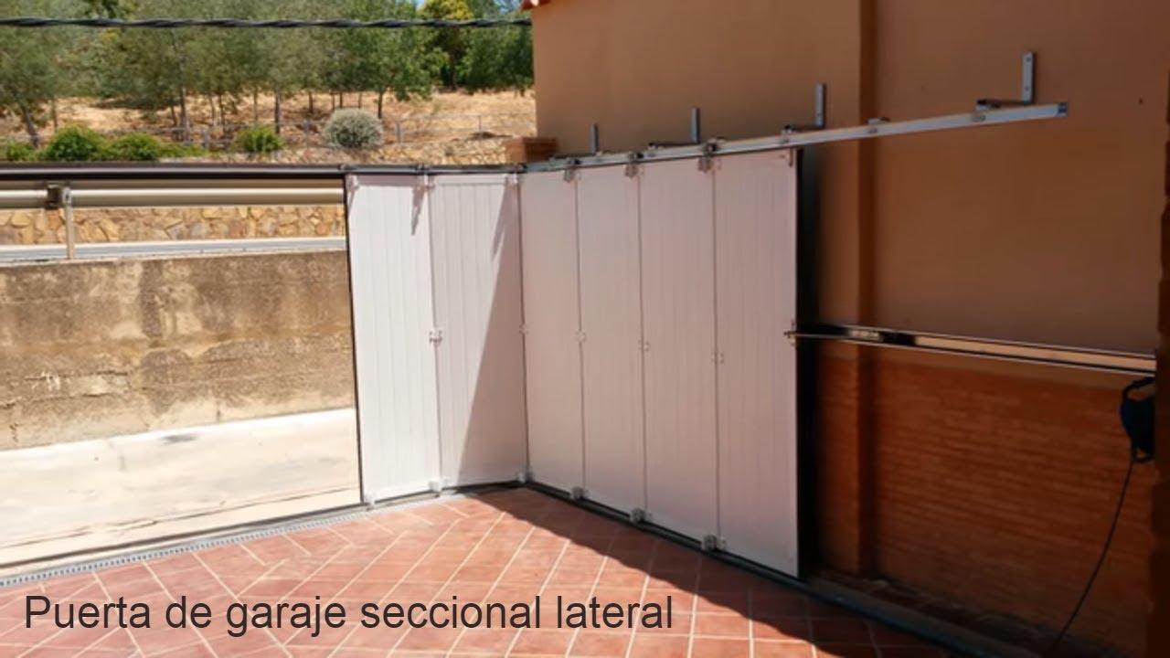 Puerta garaje automatica lateral matic port youtube - Puertas automaticas para cocheras ...