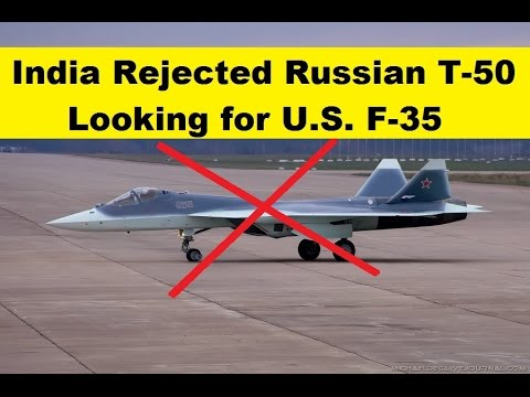 India is not Co-Develop Russian T-50 Fighter (FGFA) and Looking For New 5th Gen Fighter