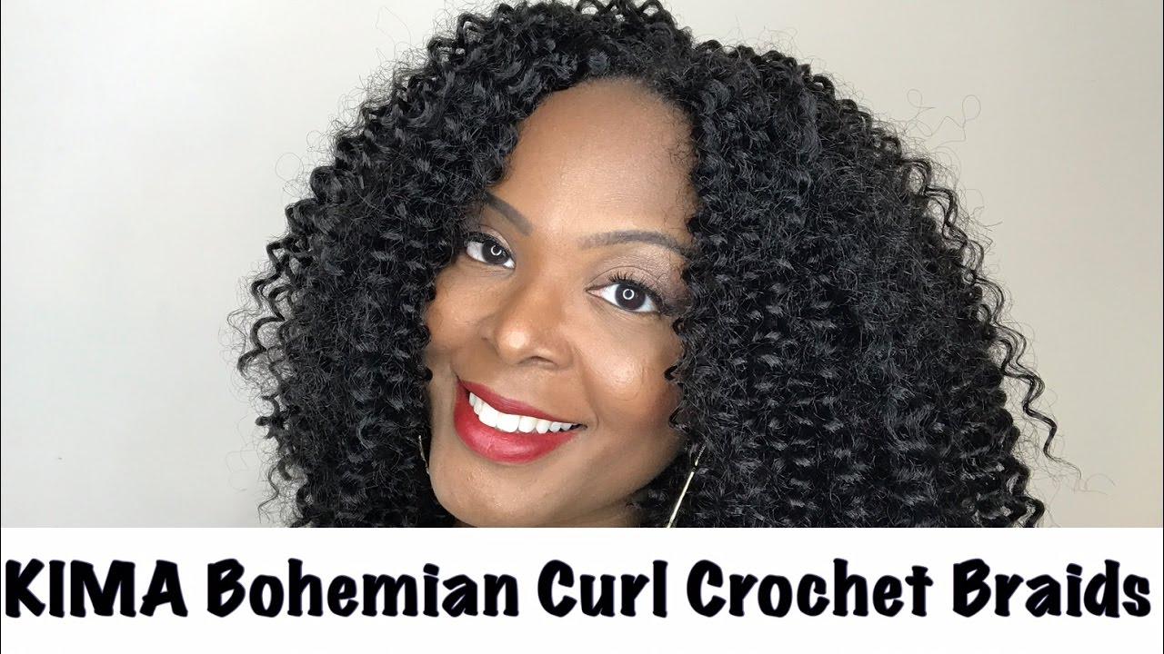 Kima Bohemian Curlharlem 125crochet Braids Review Youtube