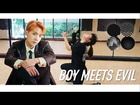 BTS (방탄소년단) - BOY MEETS EVIL Dance Tutorial | Full W Mirror [Charissahoo]