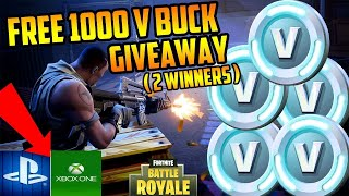 🔺️FORTNITE V-BUCKS GIVEAWAY TO SUBSCRIBERS🔺️ USE CODE VoiDgaming Road zu 200 Subs