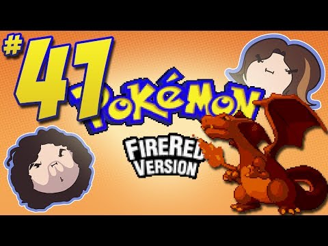 Pokemon FireRed: Yes and Yes - PART 41 - Game Grumps