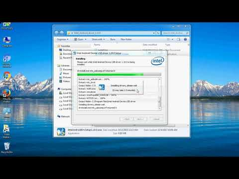 How To Install Intel USB Driver (Android Phones) On Windows 10, 8, 7, Vista, XP