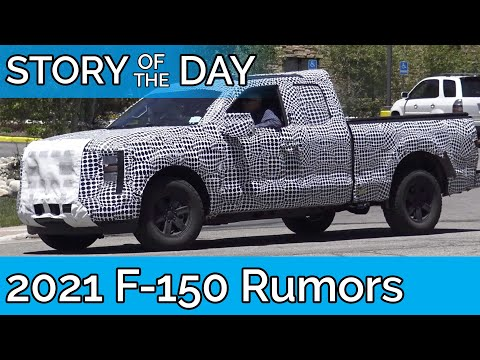 2021 Ford F-150 Spied. Here's What You NEED to Know
