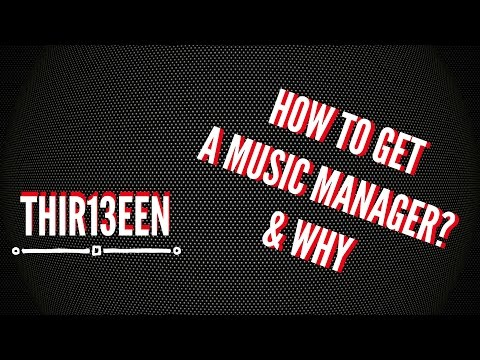 How To FIND A Music Manager & WHY? | Music Industry Tips