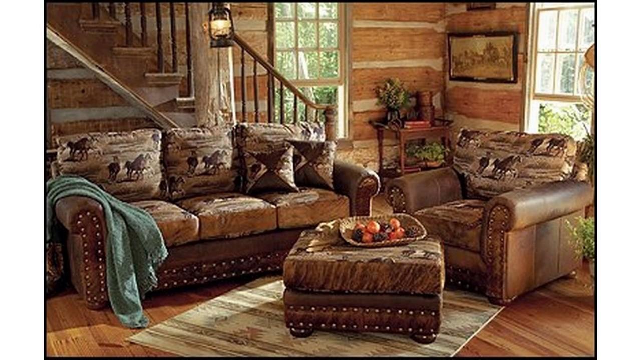 Hermosa Log Muebles De Decoración De La Cabina Imagen - Muebles Para ...