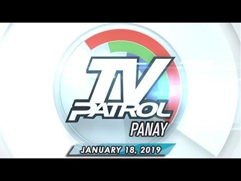 TV Patrol Panay - January 18, 2019