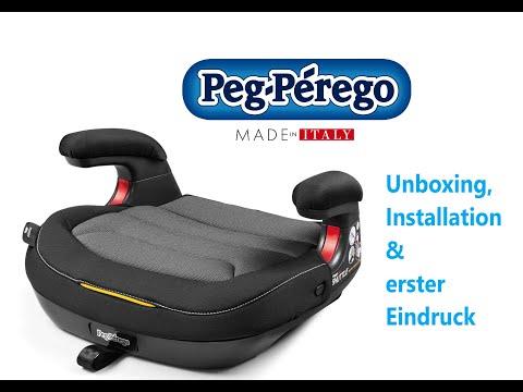 Kindersitz Peg-Perego Viaggio Shuttle Unboxing, Installation Im Audi A6 (C7) Und Erster Eindruck