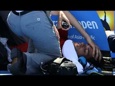 Extreme heat proves too much for Canadian player Frank Dancevic