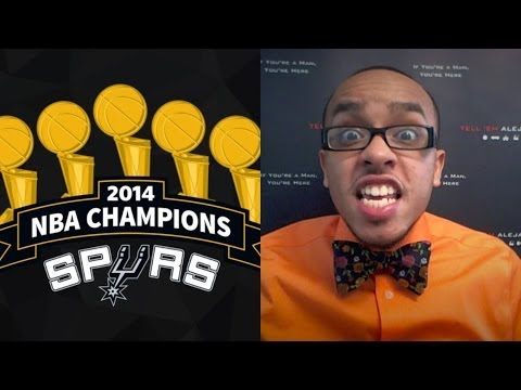TEA: 2014 NBA FINALS RECAP Spurs beat the Heat! TOUGH TOPIC What's next for the NBA?