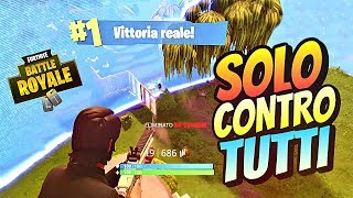 REAL VITTORY FROM ONLY vs. ALL!! - FORTNITE