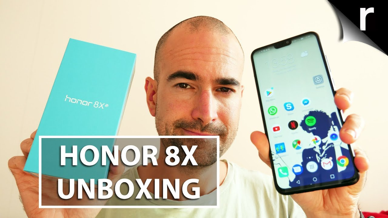 Honor 8X Unboxing | Full tour of this budget stunner