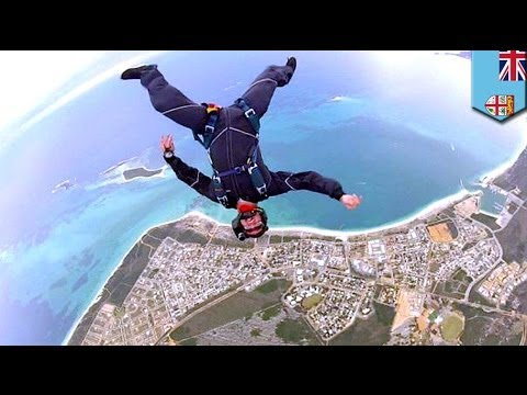 Ben Cornick survives 12,000 ft fall after skydiving accident in Fiji