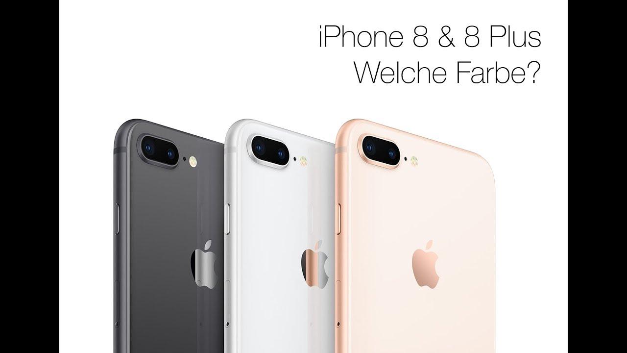 Iphone 8 8 Plus Farbvergleich Welche Farbe Ist Die Beste Gold