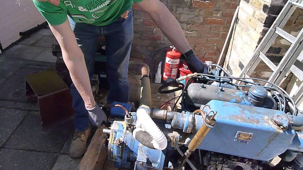 Starting running my spare om636 mercedes diesel engine for Mercedes benz marine engines