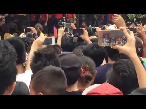 Cayetano Speech @ Pagadian City Duterte-Cayetano Grand Rally