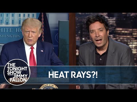 Trump Considered Using a Heat Ray on Protestors | The Tonight Show