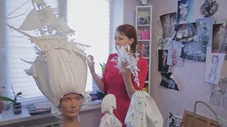 видео Карнавальные парики и шляпы