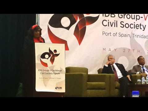 IDB Group- V Caribbean Civil Society Forum