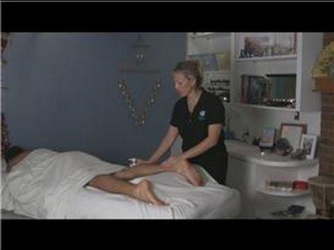 Deep Tissue Massage : How to Give a Deep Tissue Calf Massage