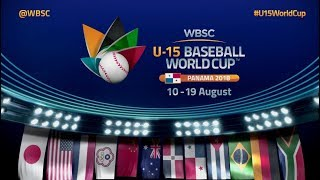 Openning Ceremony - U-15 Baseball World Cup 2018