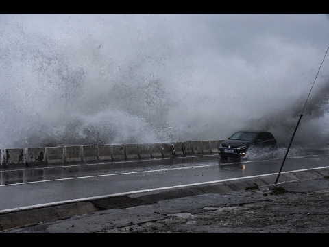 Incidencias en Ceuta por un temporal histórico