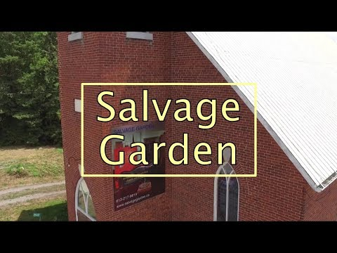 Salvage Garden architectural & industrial objects & antiques
