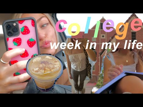 a *very productive* week in my life at college