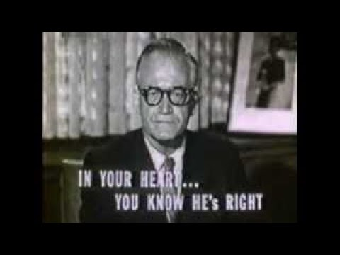 Barry Goldwater Campaign Ad (1964) - Bearded Dictator In Cuba