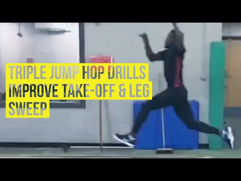 Triple Jump Technique - Hop Tips & Learning Drills