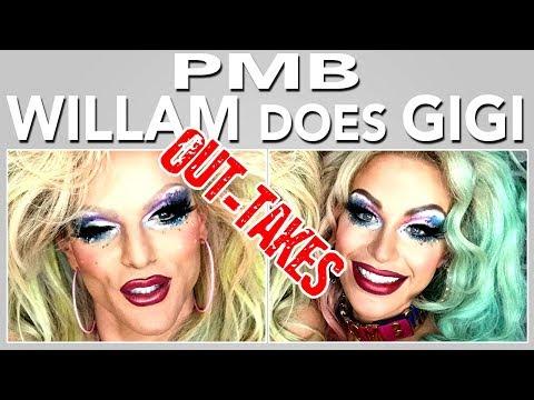 WATCH THIS!!! PMB w Gigi Gorgeous & Willam (Outtakes) *REUPLOAD*