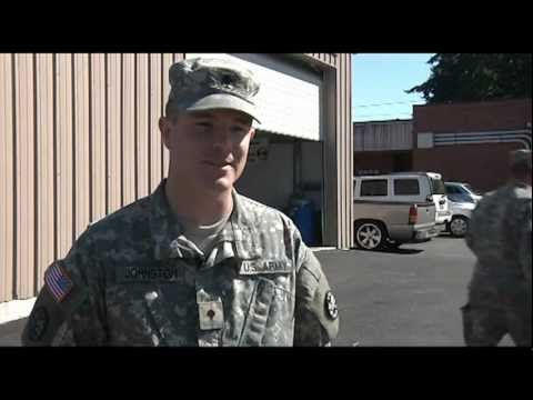 Soldiers of the 116th CBCT - Spc. Carl Johnston