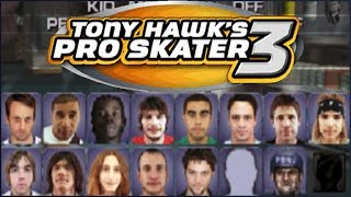 Quase todos os Cheats - Tony Hawk's Pro Skater 3 (Ps1) #Final
