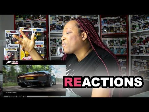 Forza Horizon 4 - E3 2018 - Announce Trailer Reaction