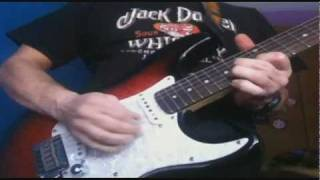 black magic woman guitar solo cover santana guitarra Squier Fender stratocaster standard 678