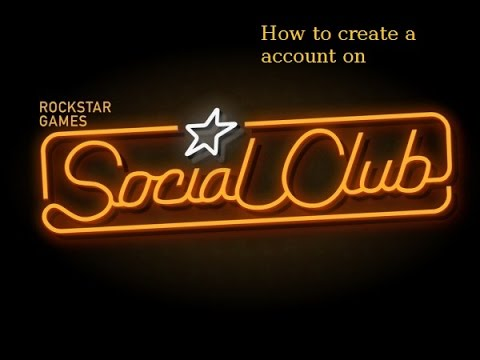 How to create a Rockstar Games social club account