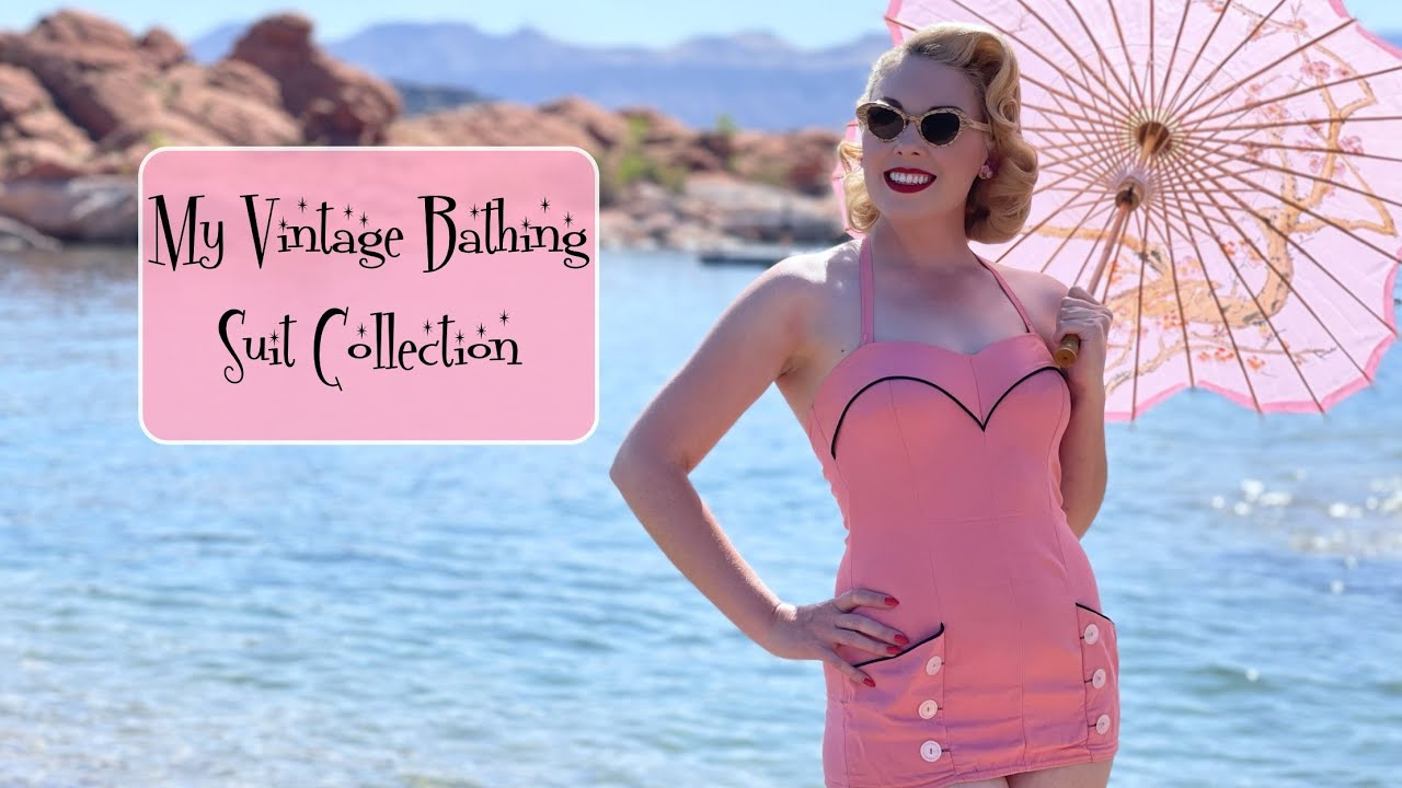 My Vintage Bathing Suit Collection