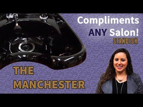 Manchester Shampoo Unit | Standish Salon Goods
