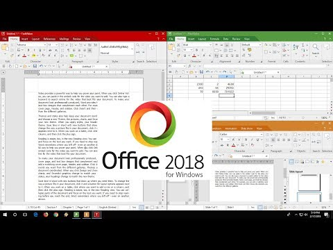 Office 2018 How to Download & Use (TextMaker, PlanMaker, Presentation)