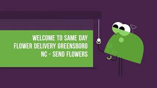 Greensboro Same Day Flower Delivery | (336) 252-2029