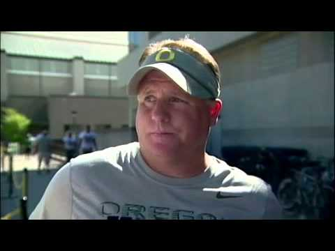 Chip Kelly Post-Practice Interview 8/7/12