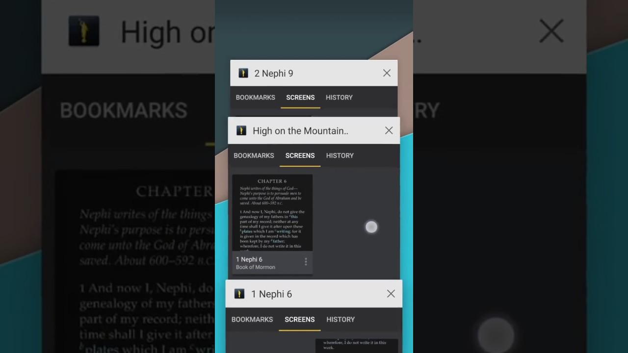New Gospel Library Update Adds Split Screen, Multitasking