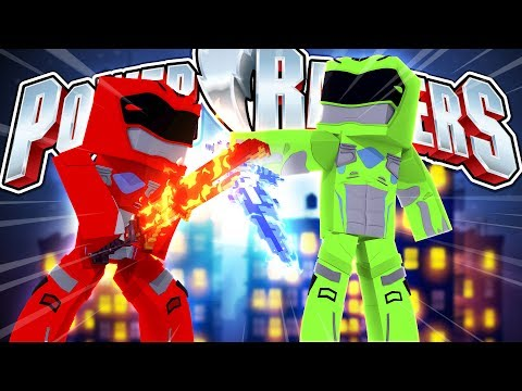 POWER RANGERS - THE RED & GREEN RANGERS PREPARE FOR THE BIGGEST BATTLE YET!!