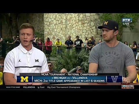 Albrecht, Novak Preview Michigan-Villanova Title Game